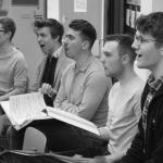 Rehearsal of No Horizon the musical