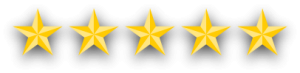 5 star review graphic